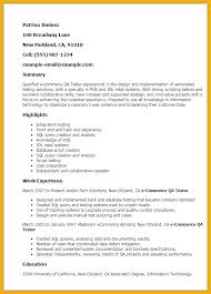 Qa Resume With Retail Experience Ecommerce Resume Sle 28 Images Uat Testing Resume 11 Qa