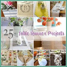 make your own table runner table runner projects a collection of 25 diy s the cottage market