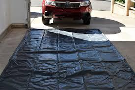 garage floor protection home design