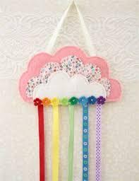 hair clip holder rainbow hair clip and hairband organizer hair bow storage