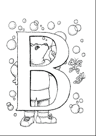 coloring pages printable letter b printable letter cards