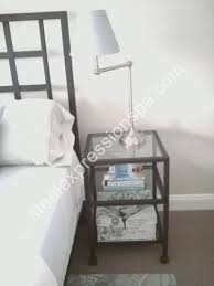 Wrought Iron And Wood Nightstands Wrought Iron Night Stands Steel Expressions Lancaster County Pa