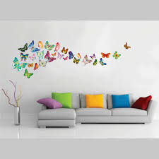 wall stickers next day delivery from worldstores walplus butterflies wall sticker collection