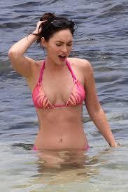 meganfoxnude celebrities in hot bikini hot model megan fox