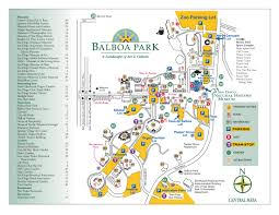 San Diego Attractions Map by Balboa Park Map Balboa Park San Diego Ca 92101 U2022 Mappery