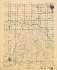 map of oklahoma oklahoma historical topographic maps perry castañeda map