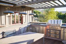 outdoor kitchen design and decorations in cozy styles hupehome