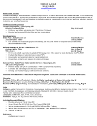 Video Resume Sample Resume Sample