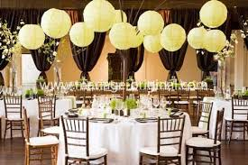 deco mariage original decoration de mariage vert anis
