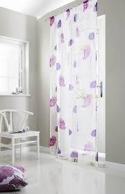 tuscany rod pocket voile panel purple affordable curtain voiles