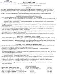 nursing instructor resume top 8 nursing clinical instructor