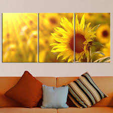Canvas Painting For Home Decoration by Online Get Cheap Sunflower Canvas Painting Aliexpress Com