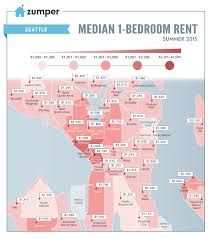 Map Queen Anne Seattle by Seattle U0027s Cheapest And Most Expensive Neighborhoods To Rent This