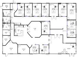 sample floor plan of commercial building