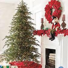 pre lit noble fir artificial tree