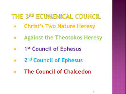 Council Of Chalcedon Teachings Church History Fifth Century Ppt