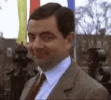 turkey mr bean gif mrbean rowanatkinson turkeyhead