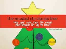 musical christmas tree singing help for kids live craft eat