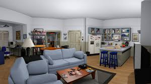 explore seinfeld u0027s apartment with shockingly detailed co design