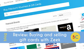 buying discounted gift cards review buying and selling gift cards with zeek be clever with