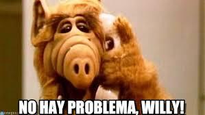 Alf Meme - no hay problema willy alf meme meme on memegen