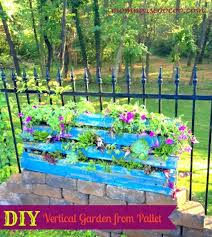 Vertical Flower Bed - 40 beautiful and easy diy flower beds to brighten your outdoors