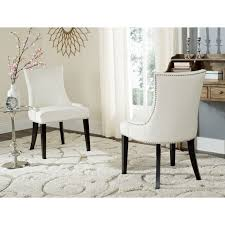 Safavieh Dining Chair Best 25 White Leather Dining Chairs Ideas On Pinterest Leather