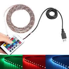 tape lights with remote 5v usb cable led strip light usb tv back light 3528 5050 smd rgb