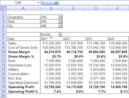 Profit And Loss Excel Template Free Quarterly Half Yearly Profit Loss Reports In Excel Part 5 Of 6