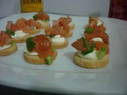 canape de receita de canapé de salmão tudogostoso