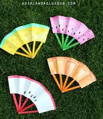 diy fans how to make paper fruit fan diy crafts handimania