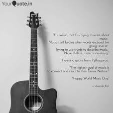 quote about music guitar avinash jha quotes yourquote