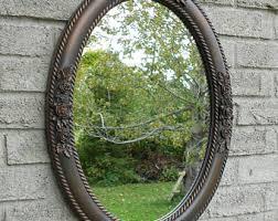 oval mirror etsy