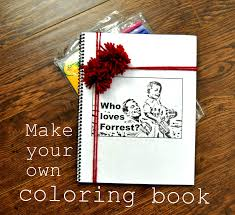 how to make a homemade coloring book murderthestout