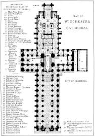 Cathedral Floor Plan Bell U0027s Cathedrals The Cathedral Church Of Winchester By Philip
