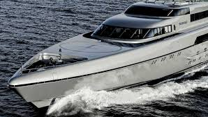 silver fast superyacht luxury motor yacht for sale with burgess