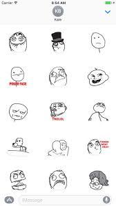 Meme Poker - meme poker faces stickers pack by quynh pham