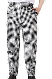 pantalon cuisine pas cher hommes chef pantalon noir et blanc cas pantalon pas cher alimentaire