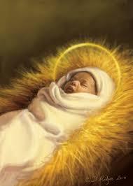 black baby jesus baby