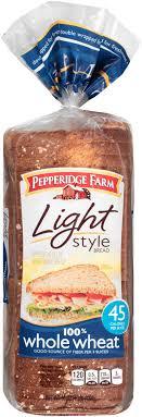pepperidge farm light bread ewg s food scores pepperidge farm 100 whole wheat light style bread