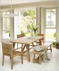 Light Oak Dining Room Chairs How About Adding A Bench To Your Dining Table