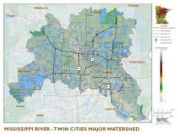 Twin Cities Map Mississippi River Twin Cities Minnesota Nutrient Data Portal