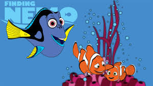 finding nemo coloring dory marlin youtube