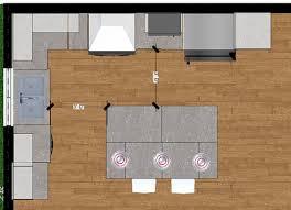 plan de cuisine avec ilot plan cuisine avec ilot photos de conception de maison elrup com
