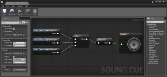sound cue editor unreal engine