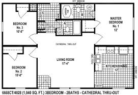 sectional mobile home floor plan the 6668ct spring view select