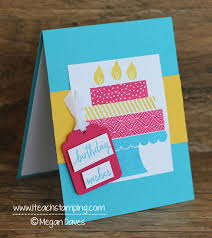 stampin u0027 up u0027s build a birthday handmade birthday card idea i