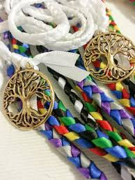 celtic handfasting cords 6 cord handfasting cord set handbinding celtic tree of