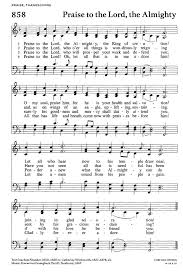 the scraps hscrc12 hymn 16 praise to the lord the almighty
