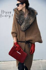 sweater with faux fur collar design friday faux fur collars